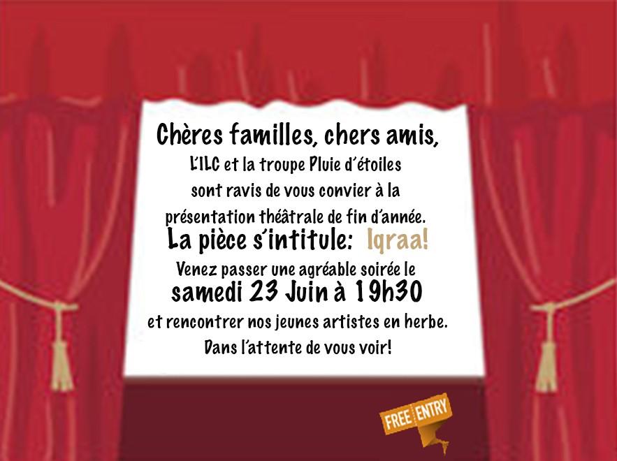 Théâtre à l'ILC