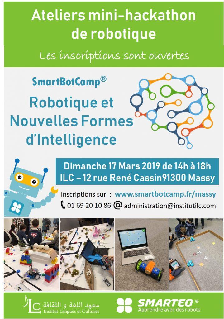 Ateliers mini-hackathon  de robotique