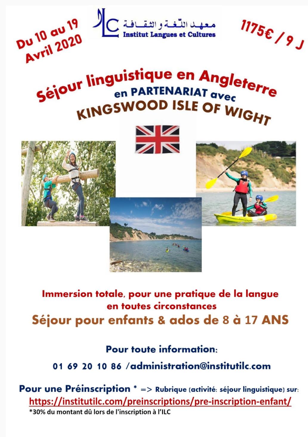 Séjour linguistique Angleterre