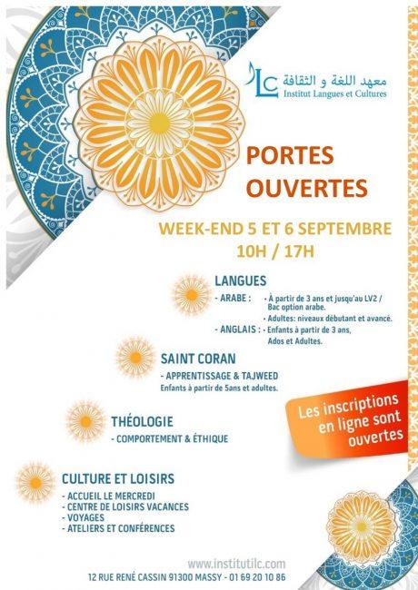 Des journées portes ouvertes le week-end 5 et 6 septembre de 10h à 17h.